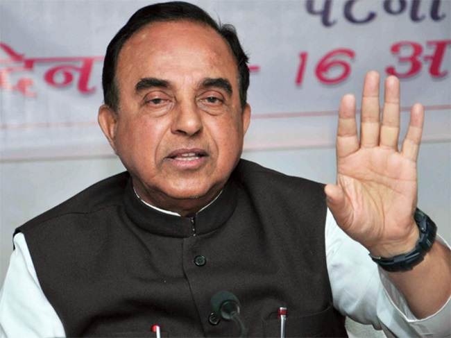 BJP Subramanian Swamy makes shocking revelations on BJP-TDP alliance