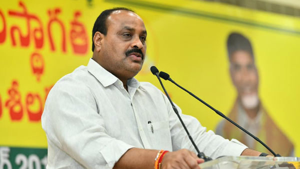 Atchennaidu lashed out at Jagan's Gopuja!!