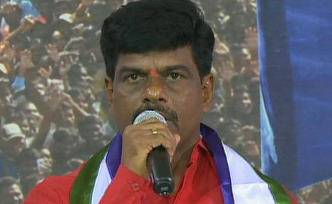 SRCP MP Gorantla Madhav Backs TDP Sarpanch Candidate?