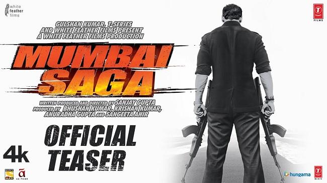'Mumbai Saga' Teaser: When Guns, Mafia & Violence Clouded Bombay!