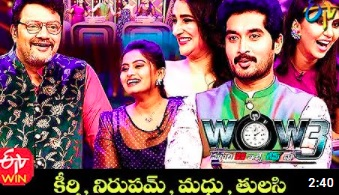 Saikumar's WOW3 – 23rd Feb – Keerthi,Nirupam,Madhu,Thulasi (Serial Actors)