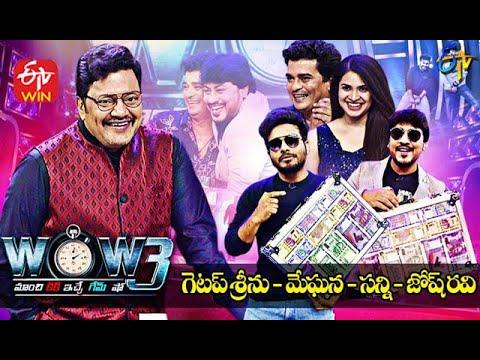 Saikumar's WOW3 – 2nd Mar –  Getup Srinu,Josh Ravi,Sunny,Meghana (Jabardasth Comedians)