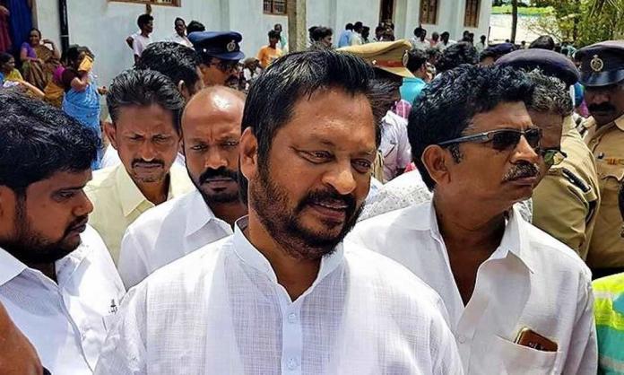 Former MP GV Harshakumar outraged over Sajjala!!