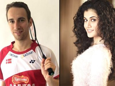 Taapsee's boyfriend requests Union Minister for help after IT raids