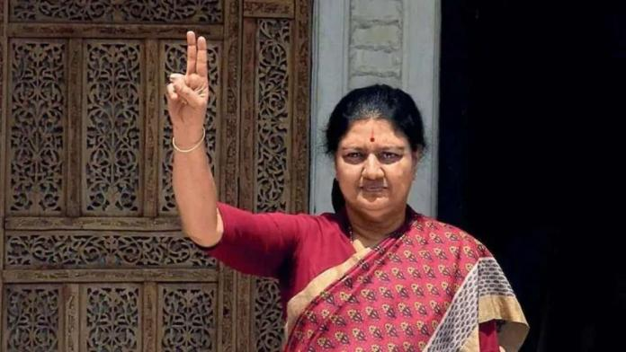 Shashikala cannot cast her vote today !!