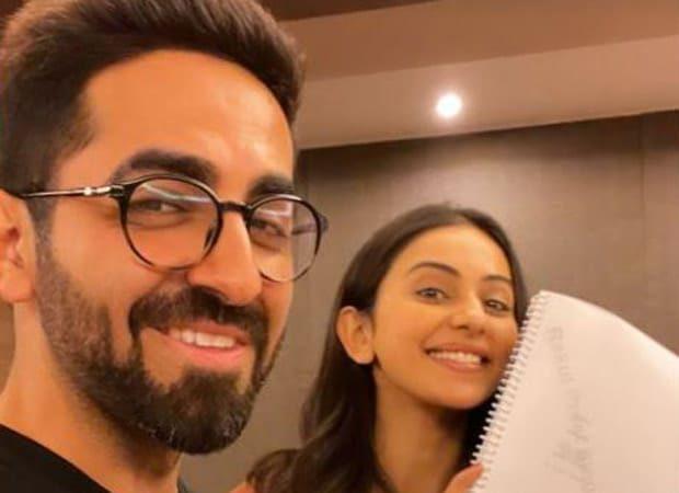 Ayushmann and Rakul Preet kick start script reading sessions for 'Doctor G'