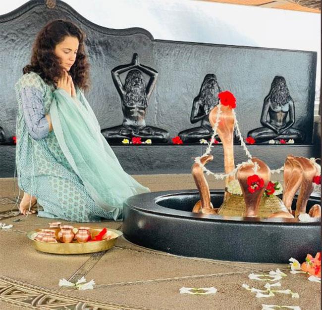 Kangana Ranaut has a spiritual retreat for fans
