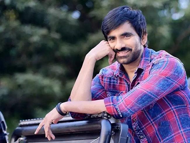 Ravi Teja Enters Film Production With A Malayali Hero!