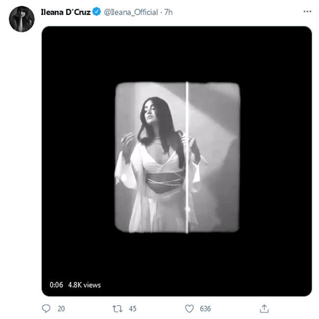 Video: Ileana Oozes Glamour In Black & White Photoshoot Montage!