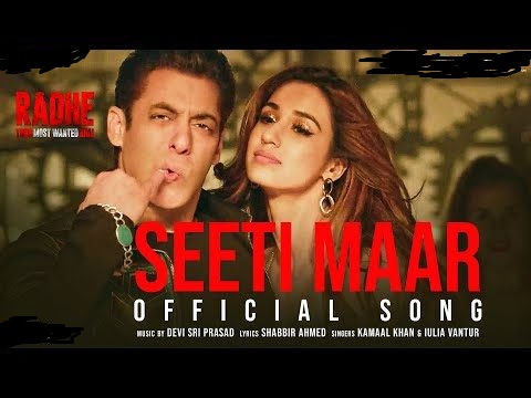 'Seeti maar' from Salman Khan's Radhe receives 30 million views within 24 hours!