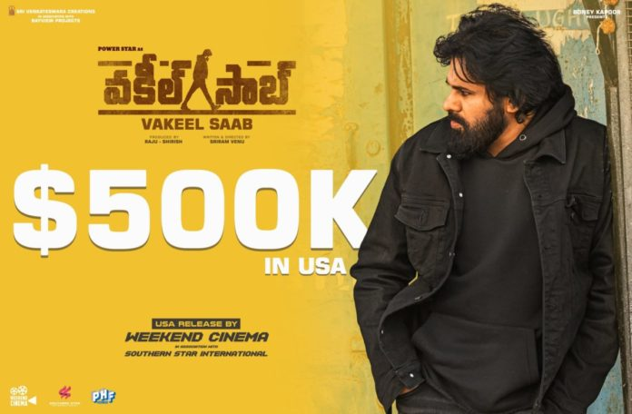 Pawan Kalyan's Vakeel Saab grosses $500K in USA