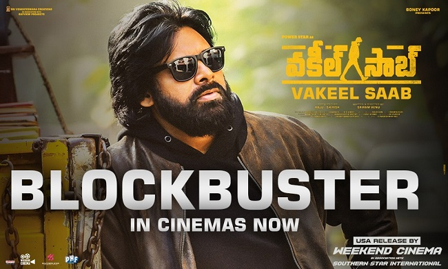 'Vakeel Saab' Takes On A Very Strong Note. Heavy Collections Expected!