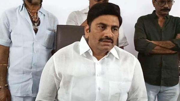 YCP Rebel MP Raghurama lashed out at Sajjala