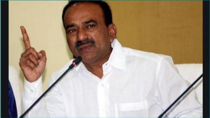 No more portfolio for Etela Rajendra