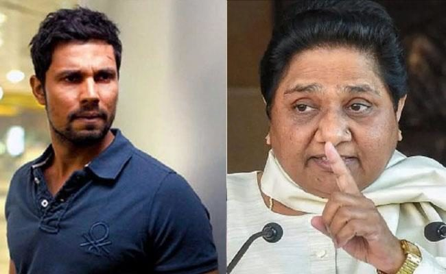 Randeep Hooda lands in trouble for insensitive joke on Mayawati