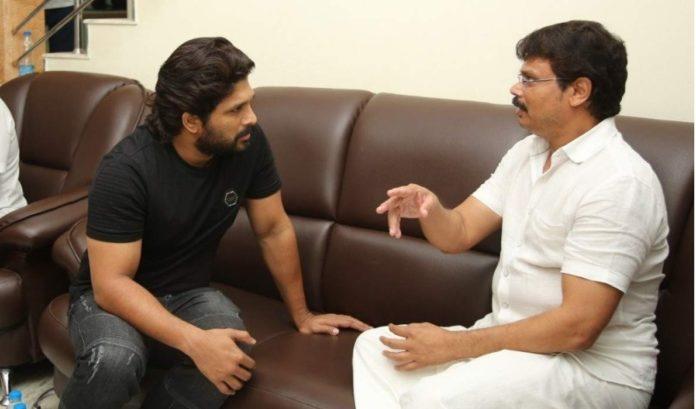 Boyapati Sreenu penning script for Allu Arjun