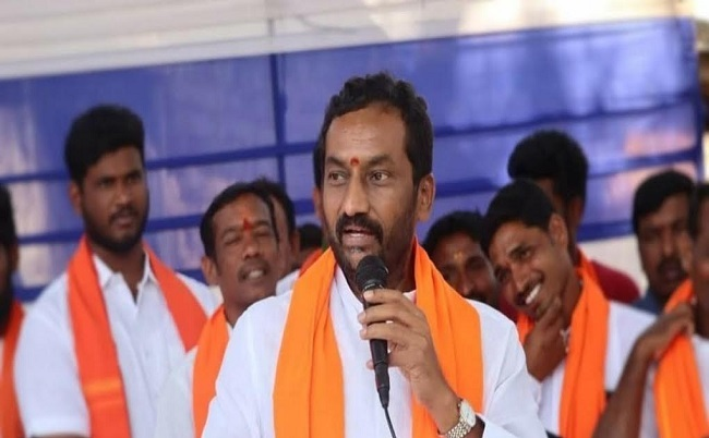 MLA Raghunandan Rao arrested on his way to Vemulaghat