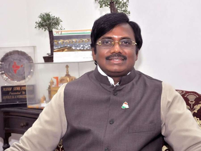 Trouble at home for BJP's former MP Gaddam Vivek
