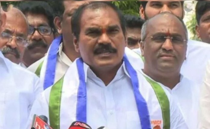 AP Dalit communities are protesting against MLC post to Thota Trimurthulu