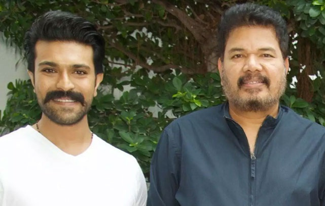 Shankar To Show A New Side OF Ram Charan