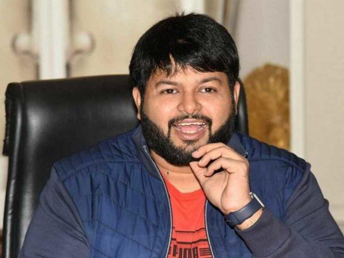 Thaman gives a big update on Sarkaru Vaari Paata album