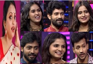Suma's Start Music Fun Game Show – E27 -1st Aug with Savithrammagari Abhaee VS Guppedantha Manasu