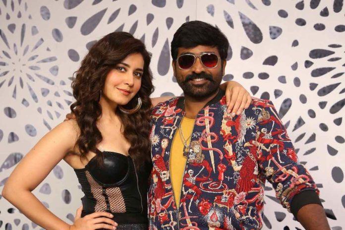 Raashi Khanna and Vijay Sethupathi are back together