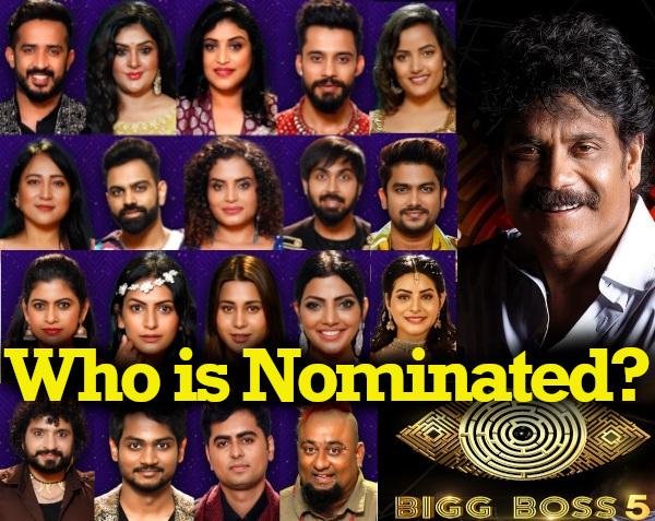Bigg Boss 5 Telugu Show – Day23 – 27th Sep – Nomination Episode