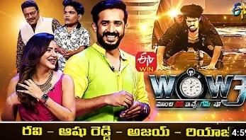 Saikumar's WOW3 – 21st Sep – Ravi,Riyaz,Bhaskar,Ashu Reddy