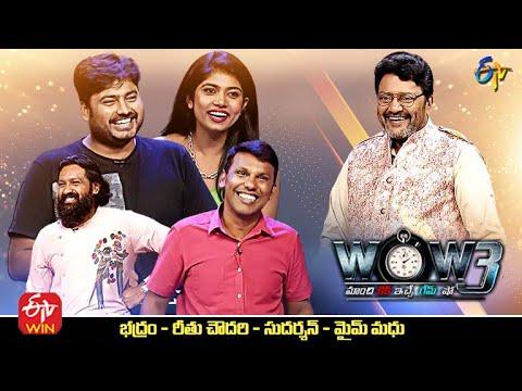 Saikumar's WOW3 – 26th Oct –  Bhadram, Rithu Chowdhary, Sudarshan, Mime Madhu
